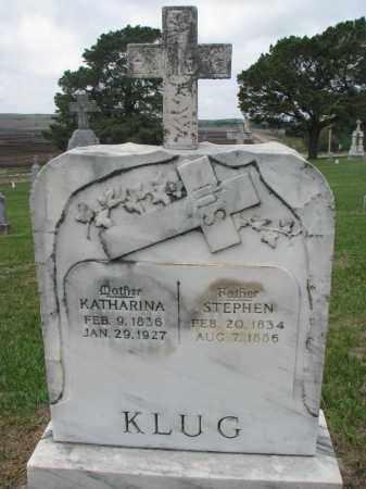 KLUG, KATHARINA - Cedar County, Nebraska | KATHARINA KLUG - Nebraska Gravestone Photos