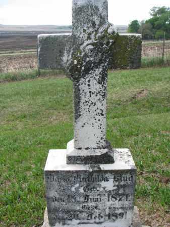 KLUG, MARIA MATHILDA - Cedar County, Nebraska | MARIA MATHILDA KLUG - Nebraska Gravestone Photos