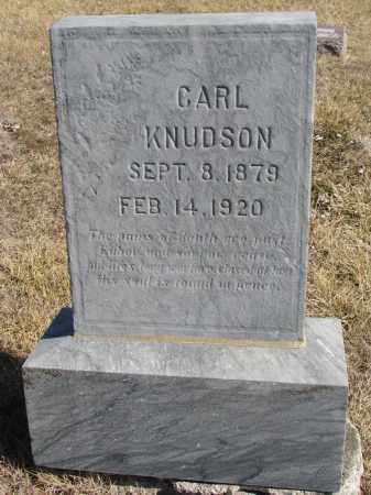 KNUDSON, CARL - Cedar County, Nebraska | CARL KNUDSON - Nebraska Gravestone Photos
