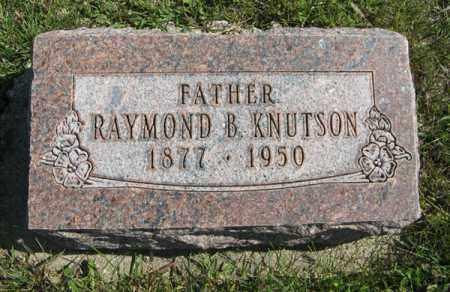 KNUTSON, RAYMOND B. - Cedar County, Nebraska | RAYMOND B. KNUTSON - Nebraska Gravestone Photos