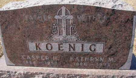 KOENIG, KATHRYN M. - Cedar County, Nebraska | KATHRYN M. KOENIG - Nebraska Gravestone Photos