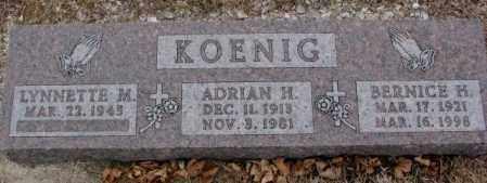 KOENIG, LYNNETTE M. - Cedar County, Nebraska   LYNNETTE M. KOENIG - Nebraska Gravestone Photos