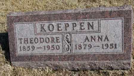 KOEPPEN, ANNA - Cedar County, Nebraska   ANNA KOEPPEN - Nebraska Gravestone Photos
