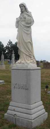 KUHL, FAMILY STONE - Cedar County, Nebraska   FAMILY STONE KUHL - Nebraska Gravestone Photos