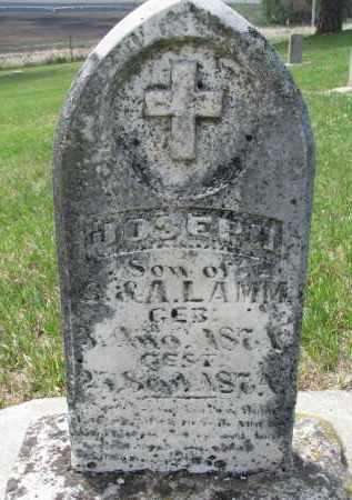 LAMM, JOSEPH - Cedar County, Nebraska | JOSEPH LAMM - Nebraska Gravestone Photos