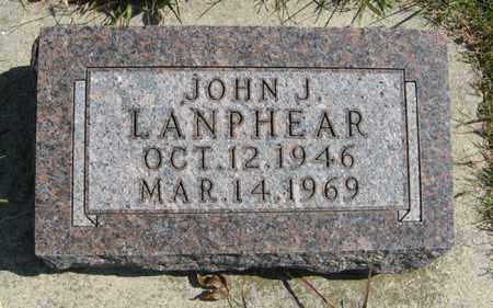LANPHEAR, JOHN J. - Cedar County, Nebraska   JOHN J. LANPHEAR - Nebraska Gravestone Photos