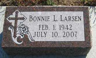 LARSEN, BONNIE L. - Cedar County, Nebraska | BONNIE L. LARSEN - Nebraska Gravestone Photos