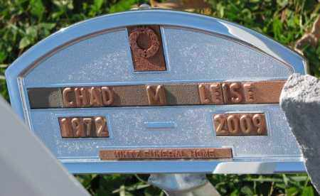 LEISE, CHAD M. - Cedar County, Nebraska | CHAD M. LEISE - Nebraska Gravestone Photos