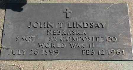 LINDSAY, JOHN T. - Cedar County, Nebraska   JOHN T. LINDSAY - Nebraska Gravestone Photos