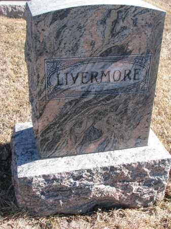 LIVERMORE, FAMILY STONE - Cedar County, Nebraska | FAMILY STONE LIVERMORE - Nebraska Gravestone Photos