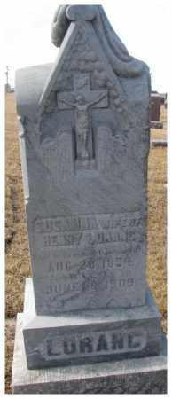 LORANG, SUSANNA - Cedar County, Nebraska | SUSANNA LORANG - Nebraska Gravestone Photos