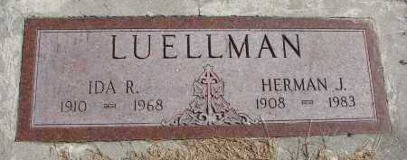 LUELLMAN, HERMAN J. - Cedar County, Nebraska | HERMAN J. LUELLMAN - Nebraska Gravestone Photos