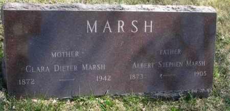 MARSH, CLARA - Cedar County, Nebraska | CLARA MARSH - Nebraska Gravestone Photos