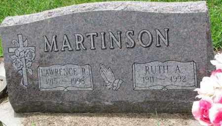 MARTINSON, RUTH A. - Cedar County, Nebraska | RUTH A. MARTINSON - Nebraska Gravestone Photos