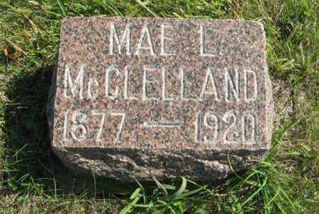 MCCLELLAND, MAE L. - Cedar County, Nebraska | MAE L. MCCLELLAND - Nebraska Gravestone Photos