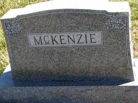 MCKENZIE, FAMILY STONE - Cedar County, Nebraska   FAMILY STONE MCKENZIE - Nebraska Gravestone Photos