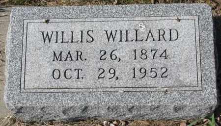 MCKENZIE, WILLIS WILLARD - Cedar County, Nebraska | WILLIS WILLARD MCKENZIE - Nebraska Gravestone Photos