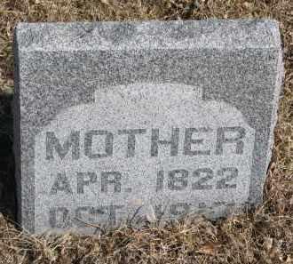 MENGSHOL, MOTHER - Cedar County, Nebraska | MOTHER MENGSHOL - Nebraska Gravestone Photos