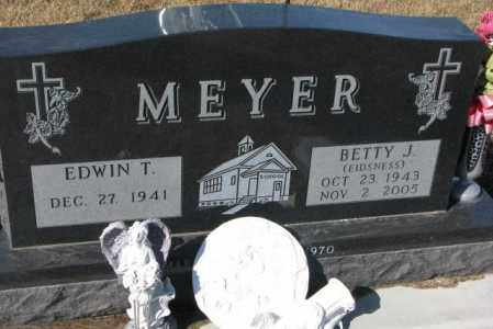 EIDSNESS MEYER, BETTY J. - Cedar County, Nebraska | BETTY J. EIDSNESS MEYER - Nebraska Gravestone Photos