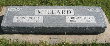 MILLARD, MARGARET M. - Cedar County, Nebraska | MARGARET M. MILLARD - Nebraska Gravestone Photos