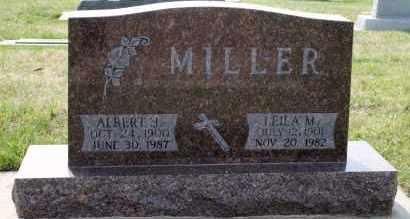 MILLER, LEILA M - Cedar County, Nebraska | LEILA M MILLER - Nebraska Gravestone Photos