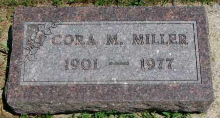 MILLER, CORA M. - Cedar County, Nebraska   CORA M. MILLER - Nebraska Gravestone Photos