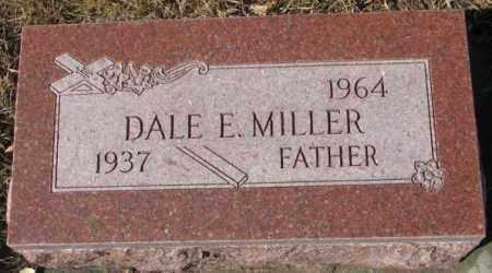 MILLER, DALE E. - Cedar County, Nebraska | DALE E. MILLER - Nebraska Gravestone Photos