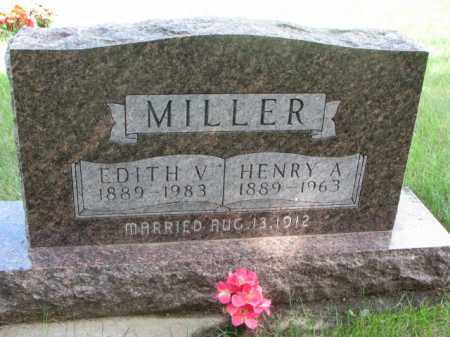 MILLER, HENRY A. - Cedar County, Nebraska | HENRY A. MILLER - Nebraska Gravestone Photos
