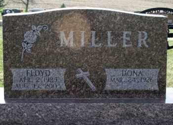 MILLER, DONA - Cedar County, Nebraska | DONA MILLER - Nebraska Gravestone Photos