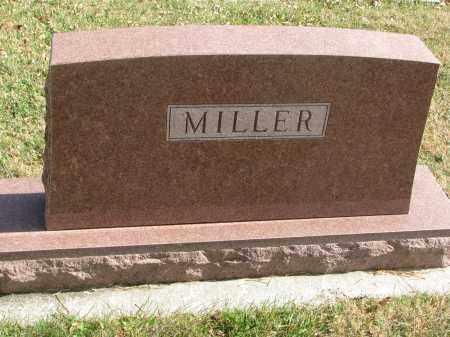 MILLER, FAMILY STONE - Cedar County, Nebraska | FAMILY STONE MILLER - Nebraska Gravestone Photos