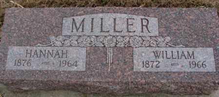 MILLER, HANNAH - Cedar County, Nebraska | HANNAH MILLER - Nebraska Gravestone Photos