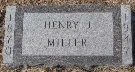 MILLER, HENRY J. - Cedar County, Nebraska | HENRY J. MILLER - Nebraska Gravestone Photos