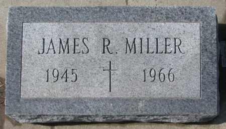 MILLER, JAMES R. - Cedar County, Nebraska | JAMES R. MILLER - Nebraska Gravestone Photos