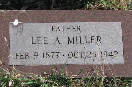 MILLER, LEE A. - Cedar County, Nebraska   LEE A. MILLER - Nebraska Gravestone Photos
