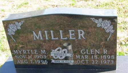 MILLER, MYRTLE M. - Cedar County, Nebraska | MYRTLE M. MILLER - Nebraska Gravestone Photos