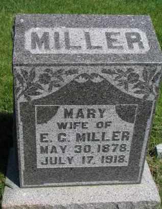 MILLER, MARY - Cedar County, Nebraska | MARY MILLER - Nebraska Gravestone Photos