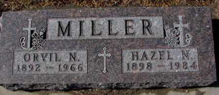 MILLER, ORVIL N. - Cedar County, Nebraska | ORVIL N. MILLER - Nebraska Gravestone Photos