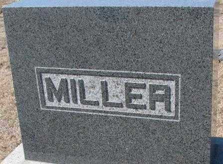 MILLER, PLOT - Cedar County, Nebraska | PLOT MILLER - Nebraska Gravestone Photos