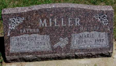 MILLER, MARIE E. - Cedar County, Nebraska | MARIE E. MILLER - Nebraska Gravestone Photos