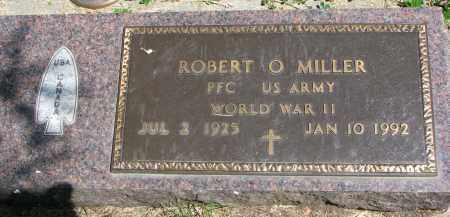 MILLER, ROBERT O. - Cedar County, Nebraska   ROBERT O. MILLER - Nebraska Gravestone Photos
