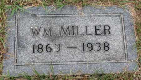 MILLER, WM. - Cedar County, Nebraska | WM. MILLER - Nebraska Gravestone Photos