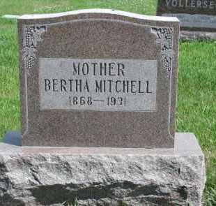 MITCHELL, BERTHA - Cedar County, Nebraska | BERTHA MITCHELL - Nebraska Gravestone Photos