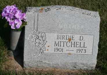 MITCHELL, BIRDIE D - Cedar County, Nebraska | BIRDIE D MITCHELL - Nebraska Gravestone Photos