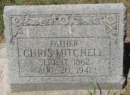 MITCHELL, CHRIS - Cedar County, Nebraska | CHRIS MITCHELL - Nebraska Gravestone Photos