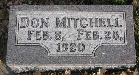 MITCHELL, DON - Cedar County, Nebraska | DON MITCHELL - Nebraska Gravestone Photos