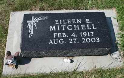 MITCHELL, EILEEN E - Cedar County, Nebraska | EILEEN E MITCHELL - Nebraska Gravestone Photos