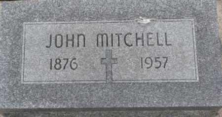 MITCHELL, JOHN - Cedar County, Nebraska   JOHN MITCHELL - Nebraska Gravestone Photos