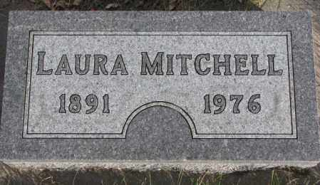 MITCHELL, LAURA - Cedar County, Nebraska | LAURA MITCHELL - Nebraska Gravestone Photos