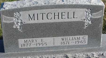 MITCHELL, WILLIAM G. - Cedar County, Nebraska | WILLIAM G. MITCHELL - Nebraska Gravestone Photos