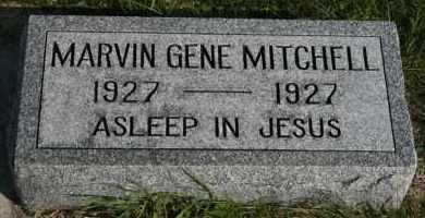 MITCHELL, MARVIN GENE - Cedar County, Nebraska | MARVIN GENE MITCHELL - Nebraska Gravestone Photos